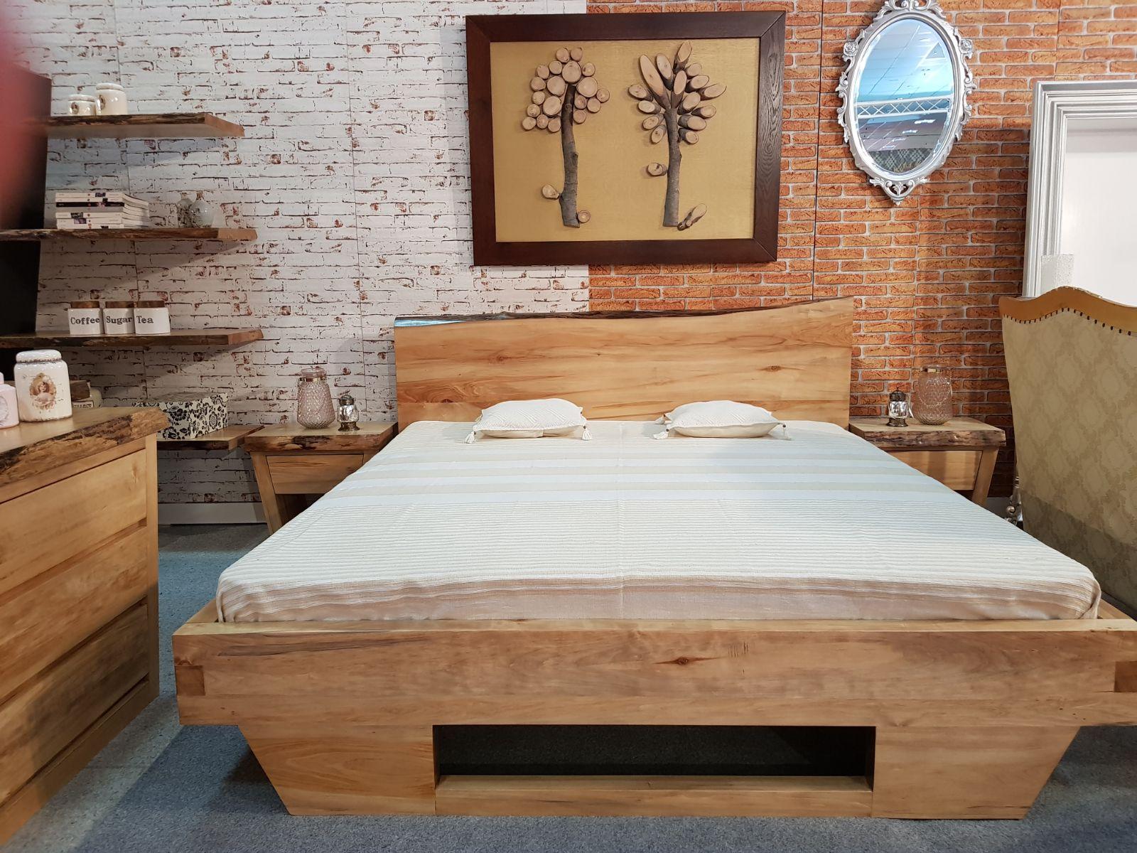 Mobila dormitor ALSACIA din lemn masiv