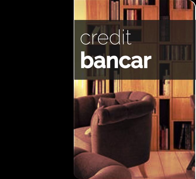se accepta credit bancar