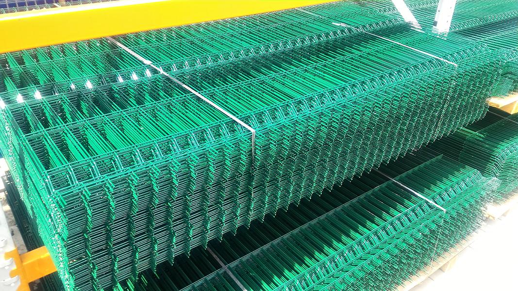 Panou Gard Bordurat Verde