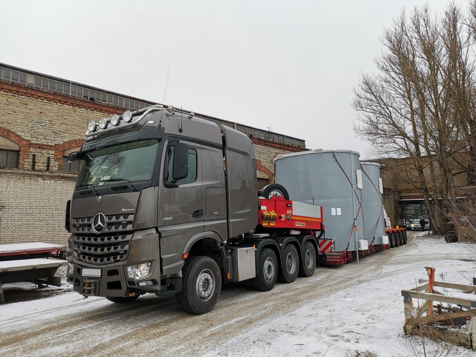 transport piese agabaritice
