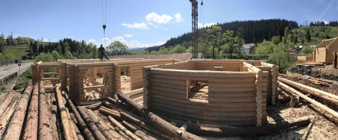 Log Home - Constructii case din lemn
