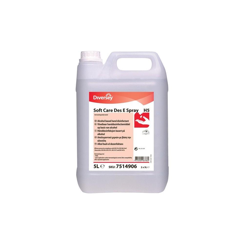 Dezinfectant pentru maini - Soft Care Des E Spray H5